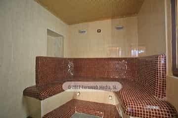 Sauna. Apartamentos rurales Casa Ron