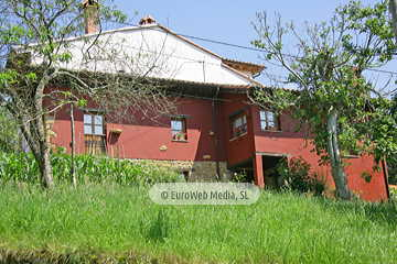Salón. Casa rural Casa Ángela