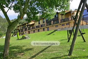 Salón social. Apartamentos rurales Los Novales
