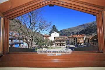 Recepción. Hotel Plaza La Abadía