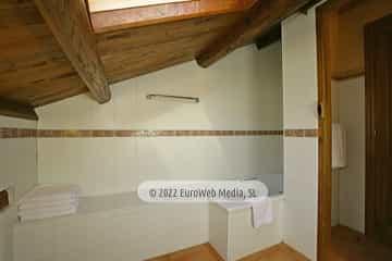 Exteriores. Apartamentos rurales de Aguillón