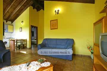 Cocina. Casa rural El Nogal