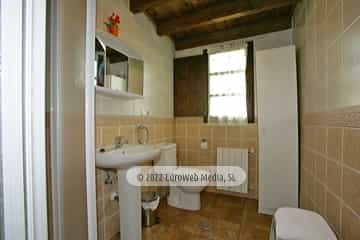 Baño. Casa rural El Nogal