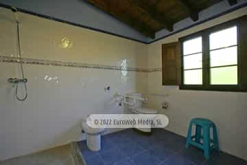 Baño adaptado. Casa rural El Nogal