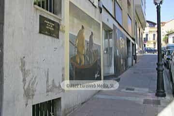 Mural «Elegía al Mar» en Candás