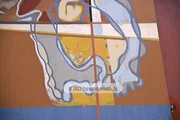 Mural «Puño de Marinero» en Candás