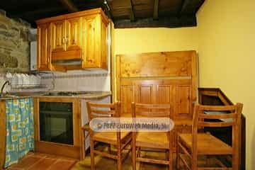 Cocina. Casa de alquiler vacacional El Chalé de Manolín