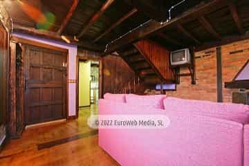 Salón. Casa de alquiler vacacional El Chalé de Manolín