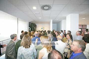 Inauguración del Acuario de Gijón
