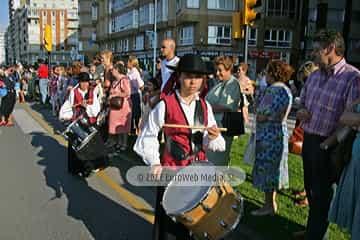 Desfile del Día de Asturias en Gijón. Día de Asturias en Gijón