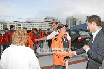 Pilotos MotoGP en Asturias, Acuario de Gijón
