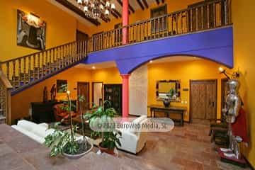 Recepción. Hotel Apartamentos Quinta La Espadaña
