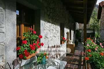 Corredor. Apartamentos rurales Casa Modesta