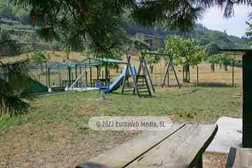 Exteriores. Casa rural El Avellano