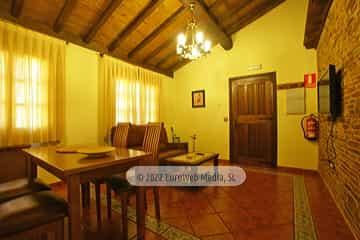 Habitación. Casa rural El Avellano
