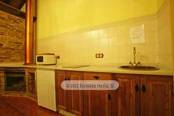 Baño. Casa rural El Avellano