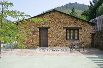 Salón cocina. Casa rural El Rosal