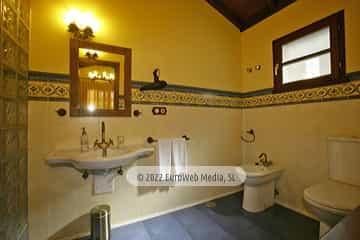 Exteriores. Casa rural El Rosal