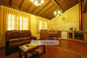 Habitación. Casa rural El Rosal