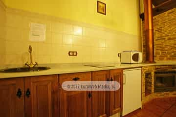 Baño. Casa rural El Rosal