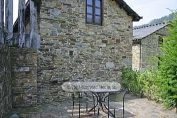 Salón cocina. Casa rural La Bodega