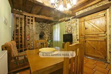 Habitación. Casa rural La Bodega