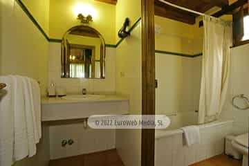 Baño. Casa rural El Pajar