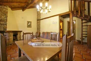 Salón cocina. Casa rural El Pajar
