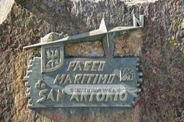 Paseo Marítimo de San Antonio (Candás). Paseo Marítimo de San Antonio