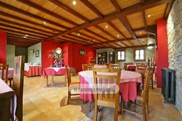 Comedor. Hotel rural La Casona de Tresali