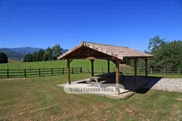 Barbacoa. Casa de aldea La Maestra