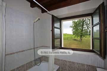 Baño. Casa de aldea La Maestra
