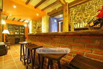 Salón social. Casa de aldea Casona Los Gamonales