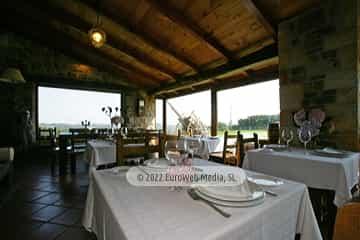 Restaurante. Casa de aldea Casona Los Gamonales