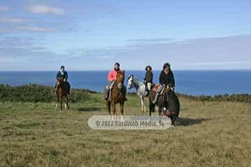 Cabo Peñas Paseos y Rutas a Caballo