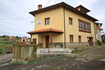 Exteriores. Casa rural Pelayín