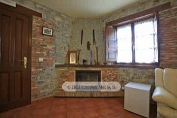 Salón. Casa rural Pelayín