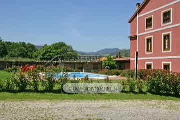 Exteriores. Hotel rural Casa Vitorio