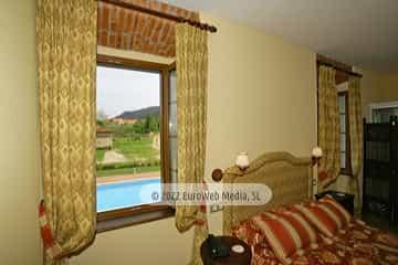 Habitación 203. Hotel rural Casa Vitorio