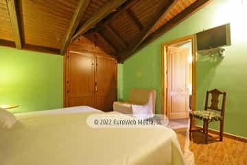 Habitación 404. Hotel rural Casa Vitorio
