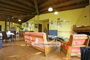 Salón comedor. Hotel rural Casa Vitorio