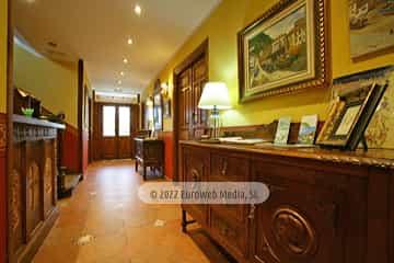 Recepción. Hotel rural Casa Vitorio