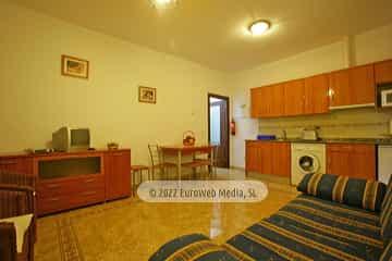 Exteriores. Apartamentos rurales Les Cuartes