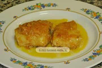Concejo de Oviedo. Bacalao en salsa de tomate