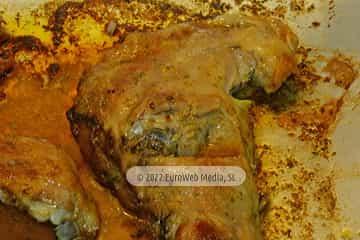 Concejo de Langreo. Cabrito asado con patatas