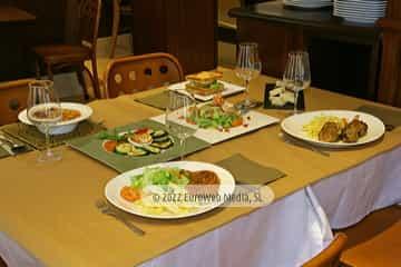Exteriores. Restaurante Cafetería San Telmo