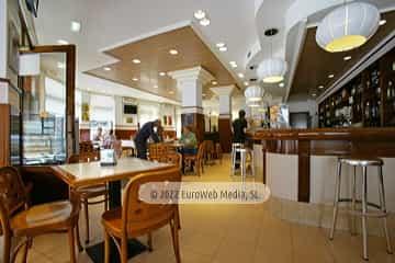 Platos. Restaurante Cafetería San Telmo
