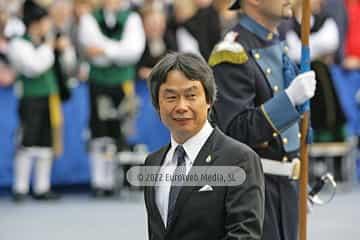 Shigeru Miyamoto, Premio Príncipe de Asturias de Comunicación y Humanidades 2012