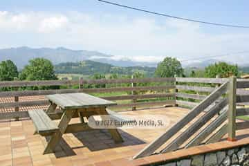 Exteriores. Apartamentos rurales La Calvera