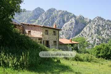 Exteriores. Casa de aldea Araceli (Quirós)